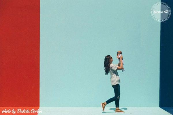 #oszdmegatudást - fiatal nő kisbabával