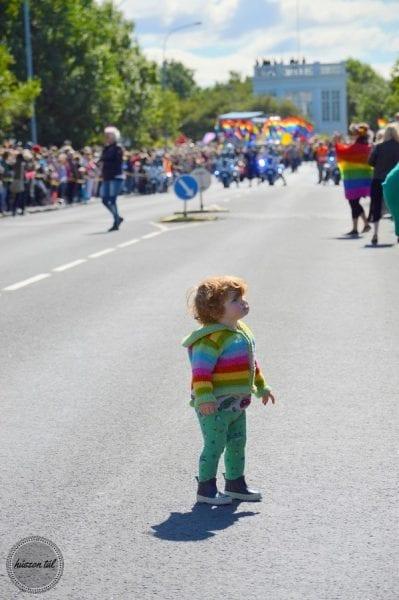 #szivügy - kisfiú a Pride-on
