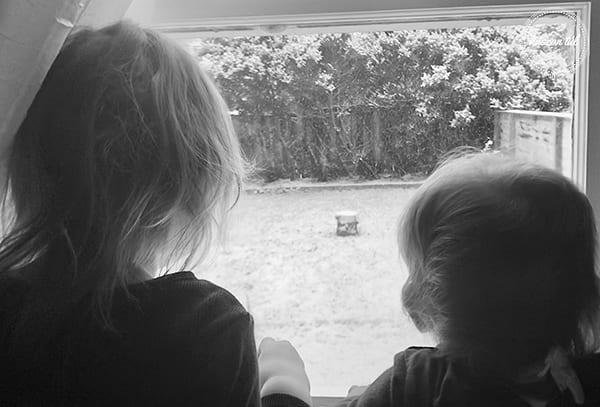 #sisterhood lányok az ablak előtt