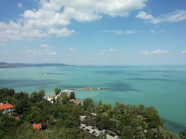 térképetáj-a Balaton madártávlatból